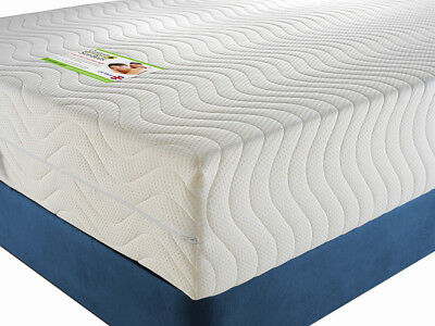 ORTHOPAEDIC PREMIUM Memory Foam Mattress SINGLE KING DOUBLE SUPER SMALL 6ft 5ft