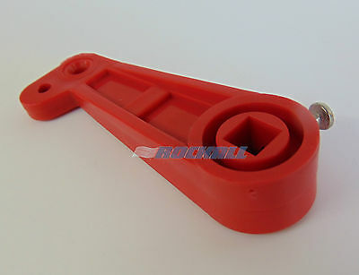 Thomas Dudley Wc Toilet Cistern Lever Syphon 8.5Mm Lift Arm Red 318166