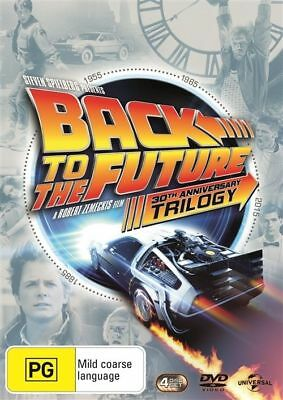 Back To The Future the 30th Anniversary Trilogy 1+2+3 DVD New R4
