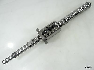 BIF3206-10+510mm Used Precision Ground Ball Screw THK Linear Bearing NSK CNCRout