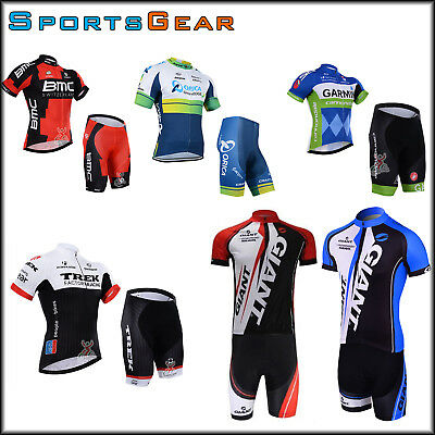 Team Sports Bike Cycling Bike Clothing Jersey Shirts Short Pants Kits Giant BMC