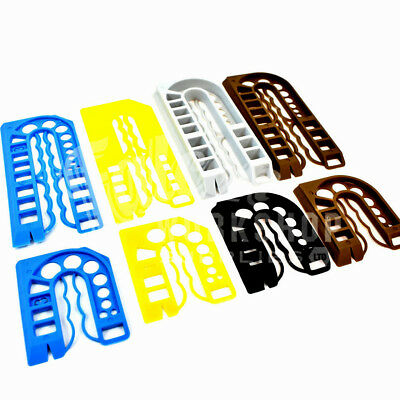 200 Mixed Colour Plastic Packing Shims - Window Frame Packer Spacer Paka-Widget