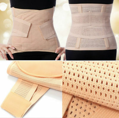 Breathable Maternity Post Natal Slimming Belt Postpartum re-shaping girdle UK!