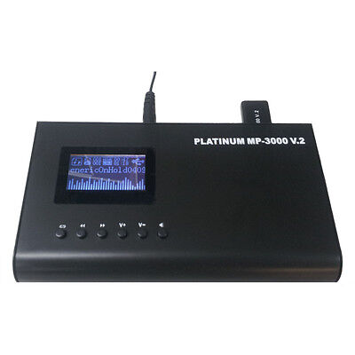 Platinum Mp3000V2 Messages On Hold Player+New+Wty