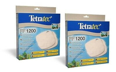 2 xTetraTec External Filter Floss Pad Media EX1200 Tetra 1200 Fish Tank Aquarium
