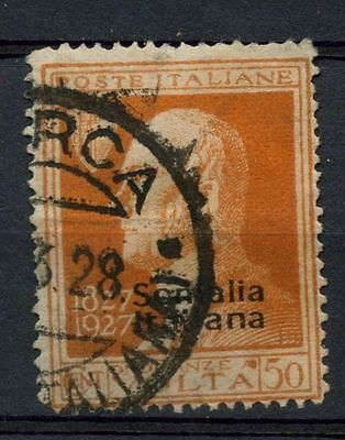Somalia 1927 SG#109 50c Orange Used #A41941
