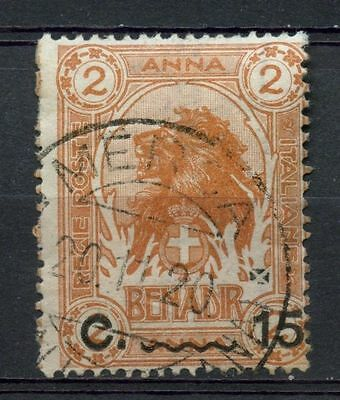 Somalia 1906-16 SG#13 15c On 2a Lion Used #A41892