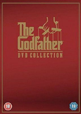The Godfather I II III DVD Collection New Sealed 3 Discs