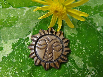 GOOD CHI BONE CHARM B Wicca Witch Pagan Spell Goth OM New Age YOGA BUDDHA AUM