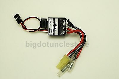 072: 80A Brushed ESC suit for 2-3S lipo. Forward/ Reverse, for 1:18 RC buggy
