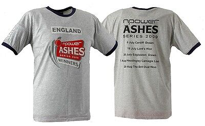 England Ashes 09 Winners Cricket T-Shirt (AST04) BNWT