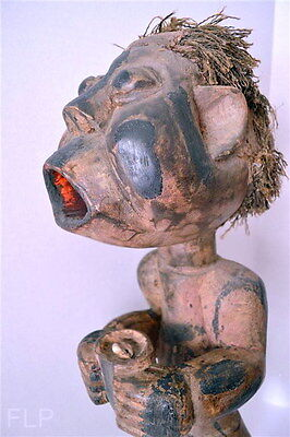 Cameroon Male African Wood Carving Statues Tribal Art Antique Auction Folk Art