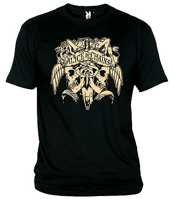 "Camiseta ""alice In Chains-Skull"" T-Shirt"