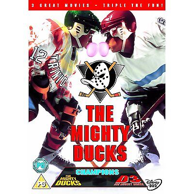 The Mighty Ducks Trilogy Collection D3 Champions D2 Region 4/Aus Disney