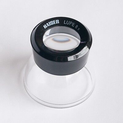 Kaiser 2334 8X Loupe Stand Lupe Magnifier Slides Film Viewing K2334