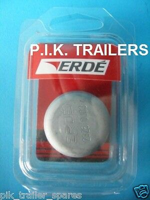 Genuine 35mm Replacement Hub Dust Cap for Erde & Daxara 107 122 127 137 Trailer