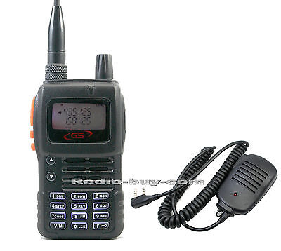 Golden Spring GS-7700USB (136-174&400-500MHz) Dual Band Radio  + Hand Mic