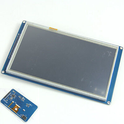 "SSD1963 7"" TFT LCD Module Display + Touch Panel Screen + PCB Adapter Build-in"