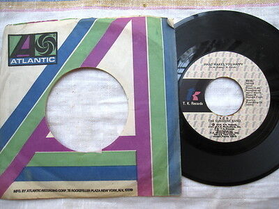 """The Sunshine Band  What Makes You Happy, That's the Way (I like It)  7 """" 45 RPM"""