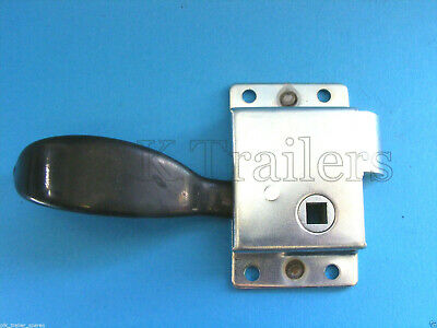 FREE P&P* Metal Latch Slam Lock LHS Left Hand Side for Trailers   #BH266