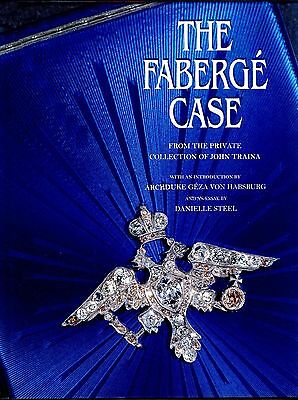 BRAND NEW FABERGE CASE FROM THE PRIVATE COLLECTION of JOHN TRAINA BOOK (sealed)