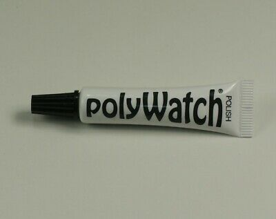 Polywatch SCRATCH REMOVAL plastic/acrylic watch crystals glasses repair vintage
