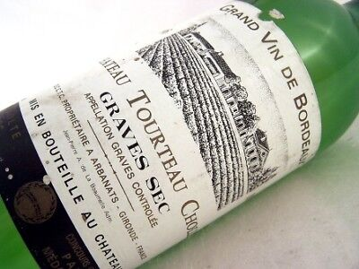 1983 CH TORTEAU CHOLET Graves Sec Isle of Wine