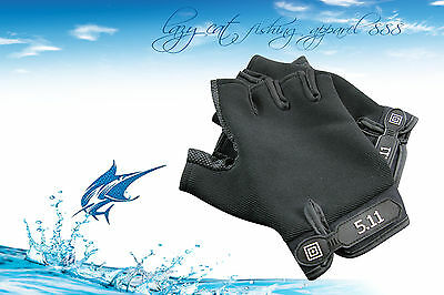 Professional fingerless fishing gloves jigging fishing rock fishing glove