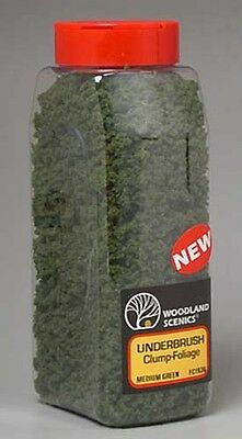 Woodland Scenics Underbrush Shaker Medium Green 32 oz FC1636