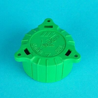 Replacement Green Alignment Cap / Plug Holder Keeper for 13 or 8 Pin Towing Plug