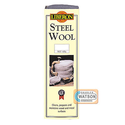 LIBERON 250g 0000 ULTRA FINE GRADE STEEL WIRE WOOL High Quality Non Crumble
