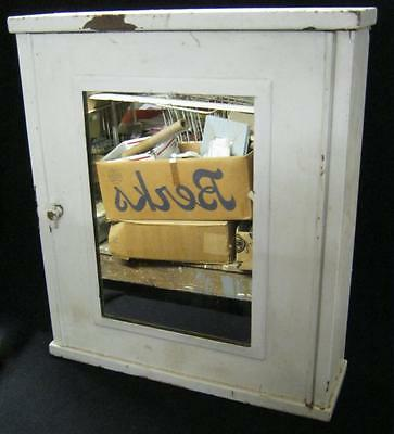 Vintage Industrial Medicine Chest Medical Cabinet #2107-13