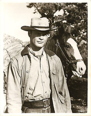 """RON STARR in """"Ride the High Country"""" Original Vintage PORTRAIT 1962 - SCARCE"""