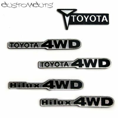 Toyota Hilux Bruiser Kotflügel Emblem Highlift Trailfinder Scaler 1:10 RC Decal