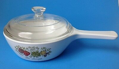 Corning Ware Spice Of Life P 81 B Menuette Skillet 1 Pint Pyrex Glass Lid P 81 C