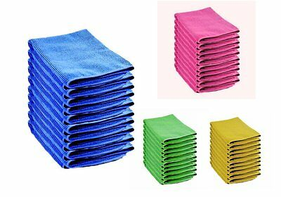 Large Microfibre Cleaning Cloths Towel Car Valeting Polishing Duster Wash Cloth