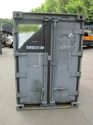 Container,Materialcontainer, Lagercontainer, H - 2,07m , B - 1,44m ,T - 2,35m