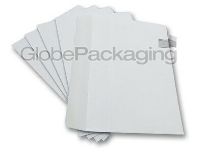 2000 x C6/A6 PLAIN WHITE SELF SEAL ENVELOPES 114x162mm - 90gsm- 24HR DELIVERY