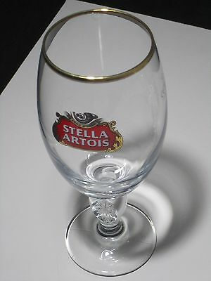 1 Stella Artois Chalice 33CL Glasses Beer Pub Bar stemware Pint glass 11.2oz New