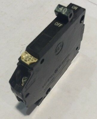 THQP140 General Electric Circuit Breaker 1 Pole 40 Amp 120V (2 YEAR WARRANTY)