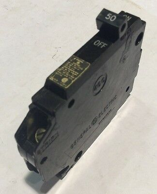 THQP150 General Electric Circuit Breaker 1 Pole 50 Amp 120V (2 YEAR WARRANTY)