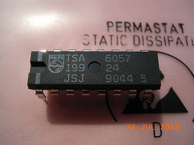 TSA6057 PLL Frequency Synthesizers Philips DIP-16
