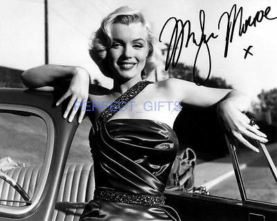 Marilyn Monroe Signed 10X8 Repro Pp Photo Print
