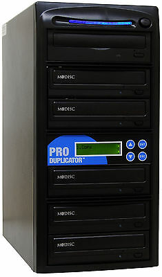 ProDuplicator 5 Burner 24X CD DVD Duplicator Disk Copier Copy Duplicate Machine