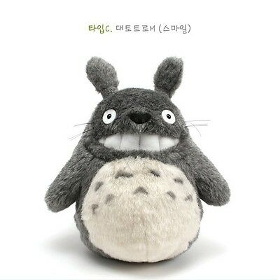 "STUDIO GHIBLI 11"" GRIN TOTORO PLUSH DOLL TOY NEW My Neighbor Totoro"