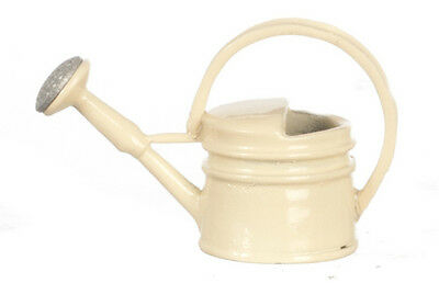 """Dollhouse Miniature Cream Color Watering Can, 1"""" tall, G8145"""