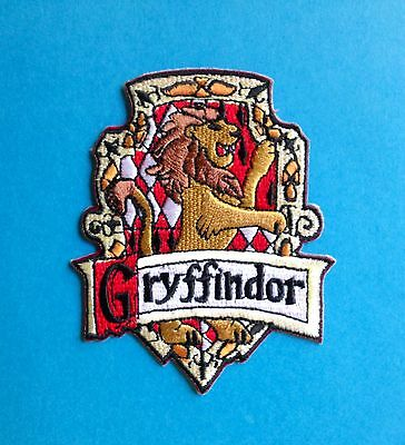 Harry Potter Gryffindor House Scarf Hat Jacket Hoodie Backpack Patch Crest