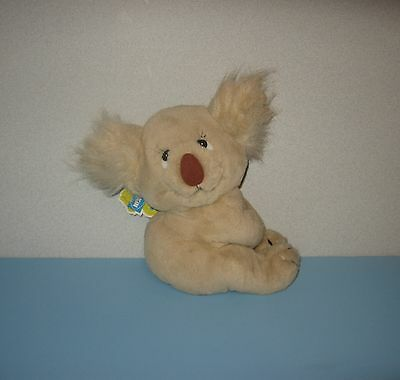 "1982 Dakin Nature Babies Kooky Koala 9"" Stuffed Plush Animal w/ Tag"