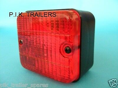 AJBA Rear Fog Lamp Light 12v Flush Surface Mounted FR20 Erde & Daxara Trailer