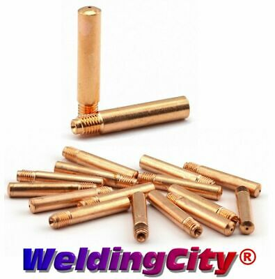 25 Contact Tips 14-35 for Tweco #2-#4 & Lincoln Magnum 200-400 MIG Welding Gun